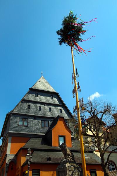 Amorbach Germany, May Pole