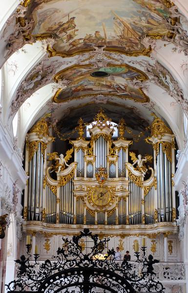 Amorbach Germany, Abbey Church Organ