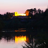 Aschaffenburg Germany, Twilight View on Pompejanum
