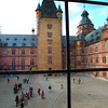 Aschaffenburg Germany, Castle Courtyard
