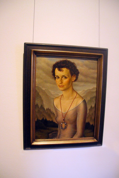 Aschaffenburg Germany, Christian Schad Exhibit, Castle Museum