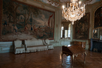 The Audience Chamber inside Augustusburg Palace - Germany