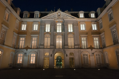 The Augustusburg Palace facade in Bruhl, Germany