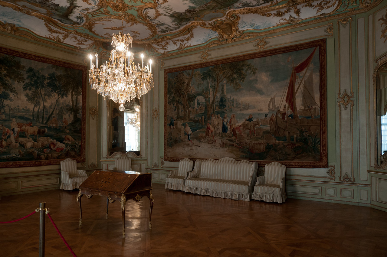 Audience Chamber at the Augustusburg Palace in Germany