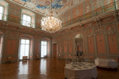 Dainty room inside Augustusburg Palace in Germany
