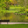 Bad Homburg Germany, Kurpark Pond