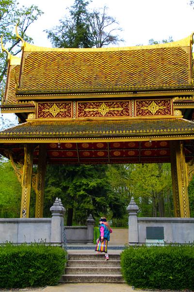 Bad Homburg Germany, Kurpark, Thai-Sala Temple