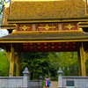 Bad Homburg Germany, Kurpark, Thai-Sala Temple