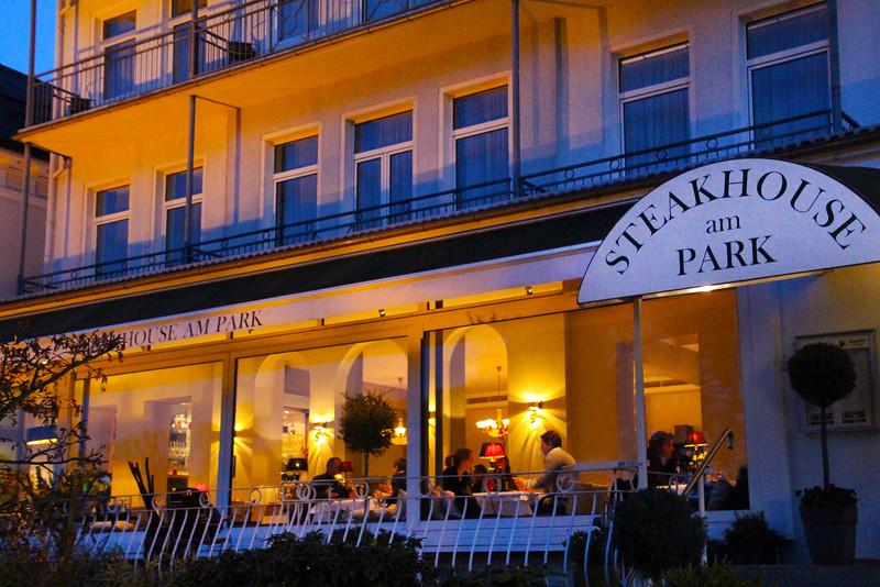 Bad Homburg Germany, Steakhouse am Park