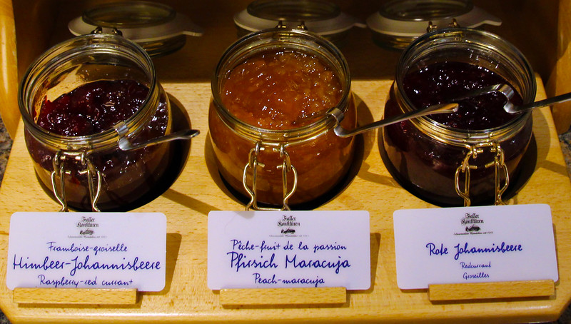 Bad Homburg Germany, Marmelade, Breakfast Buffet, Park Hotel Bad Homburg