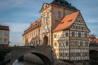 The Little Venice in Bamberg, Germany