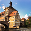 Bamberg Germany, Altes Rathaus, Regnitz River