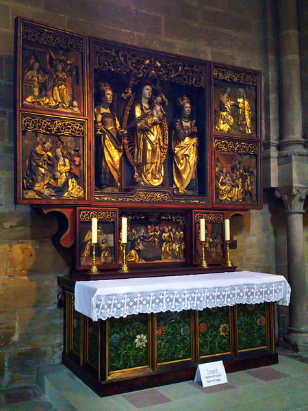 Bamberg Germany, St. Peter & St. George Cathedral, Altar