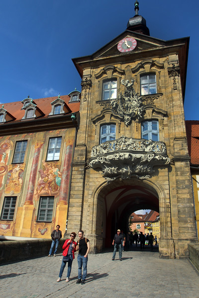 Bamberg Germany, Altes Rathaus
