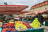 Fruit market.