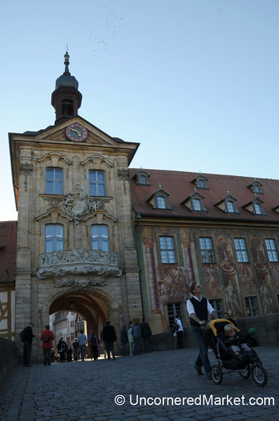 Bamberg's Old Rathaus - Franconia, Germany