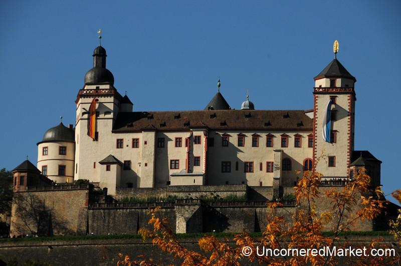 Fortress Marienberg Overlooking Wurzburg - Germany
