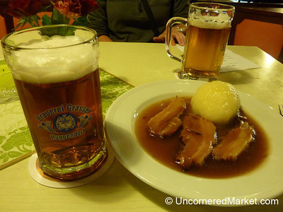 Smoked Pork and Beer - Thurnau, Germany