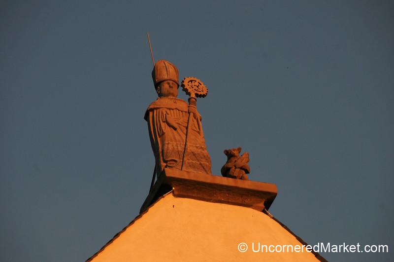 A Saint and a Bear - Frickenhausen, Germany