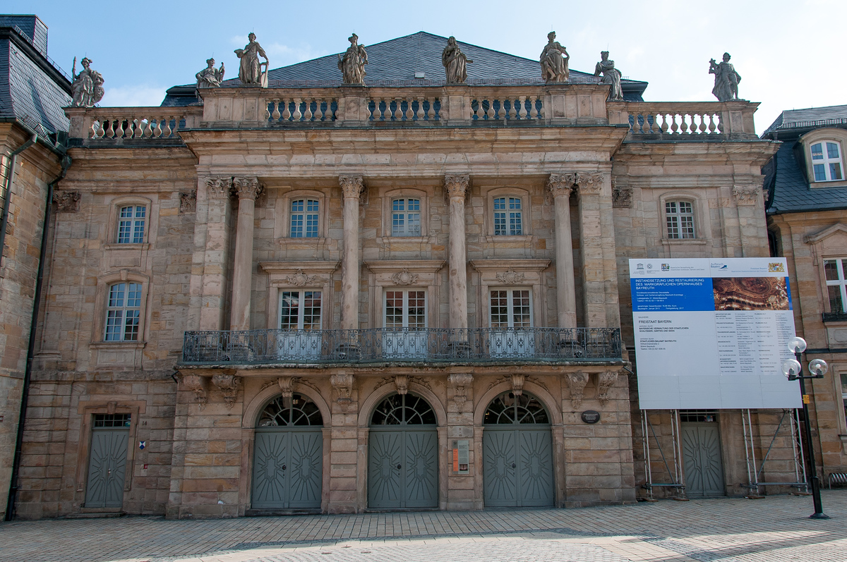 UNESCO World Heritage Site #222: Margravial Opera House Bayreuth