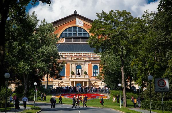 Bayreuth Festspielhaus Theater