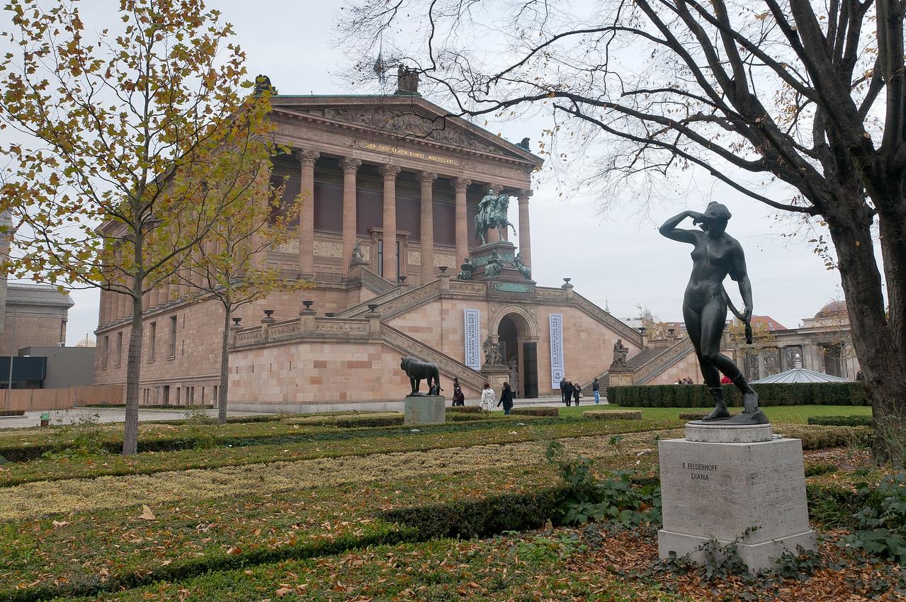 Alte National Museum in Berlin, Germany