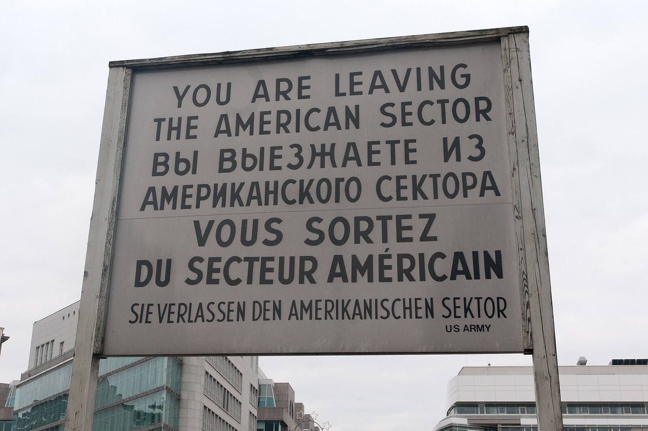Sign spotted in Berlin, Germany