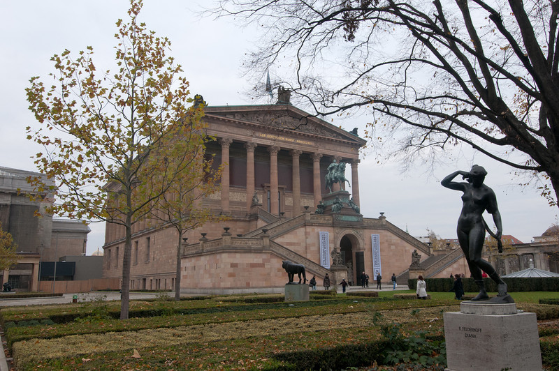 The Alte National Museum in Berlin, Germany