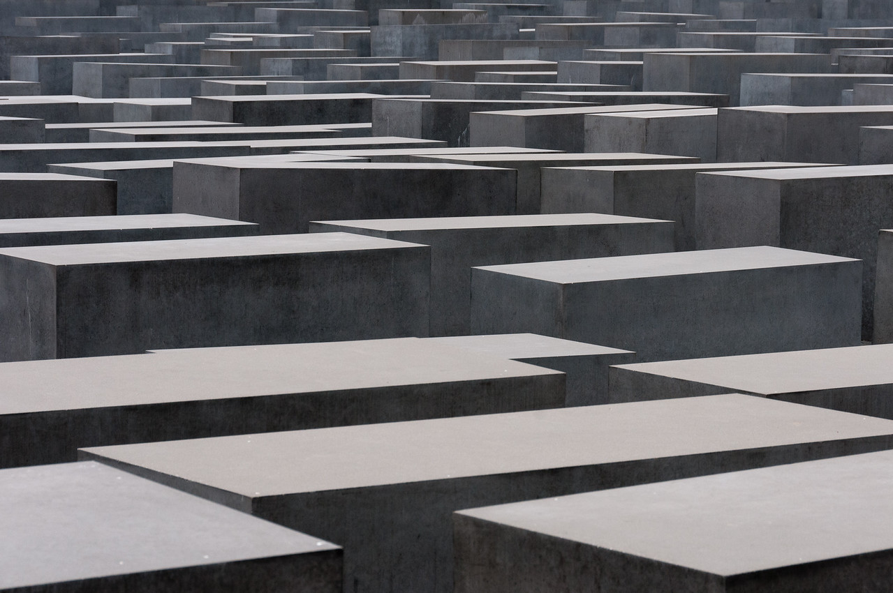 The Holocaust Monument in Berlin, Germany
