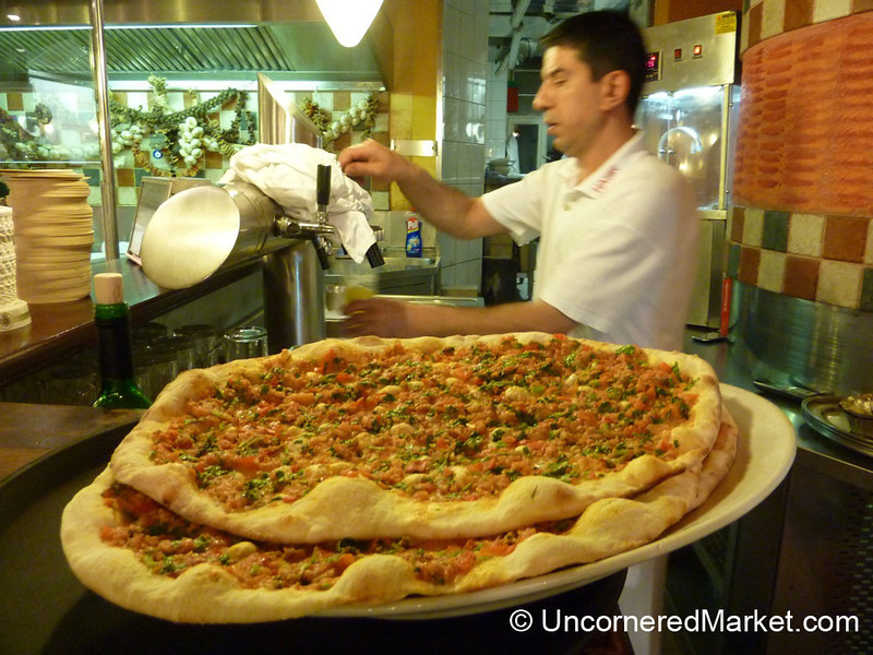 Turkish Pizzas at Hasir Restaurant - Kreuzberg, Germany