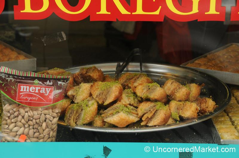 Turkish Desserts at Kolucoglu in Kreuzberg, Berlin