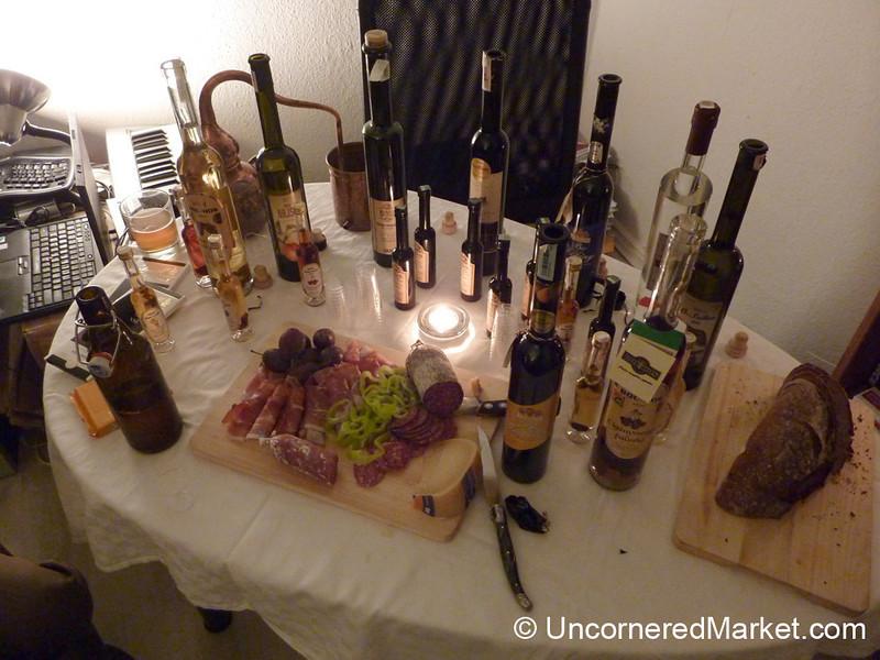 An Evening of Plum Brandy Tasting - Berlin, Germany
