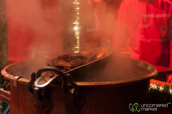 Feuerzangenbowle at the Lucia Christmas Market - Berlin, Germany
