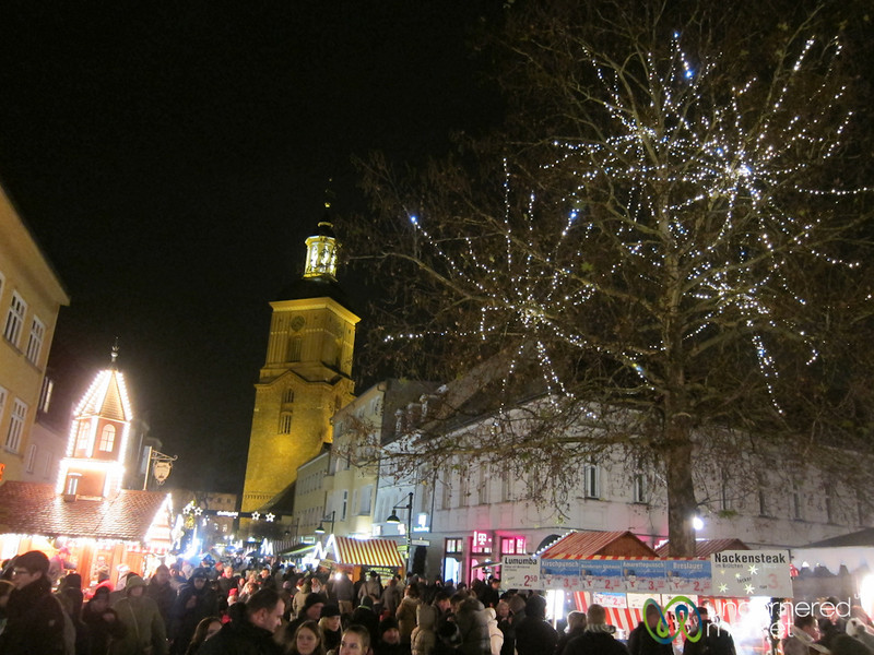 Spandau Christmas Market at Night - Berlin, Germany