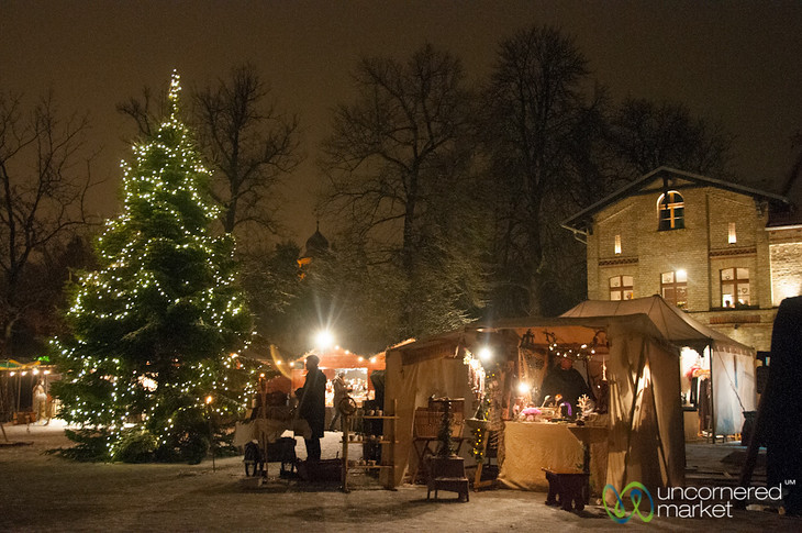 Britz Schloss Christmas Market - Berlin, Germany