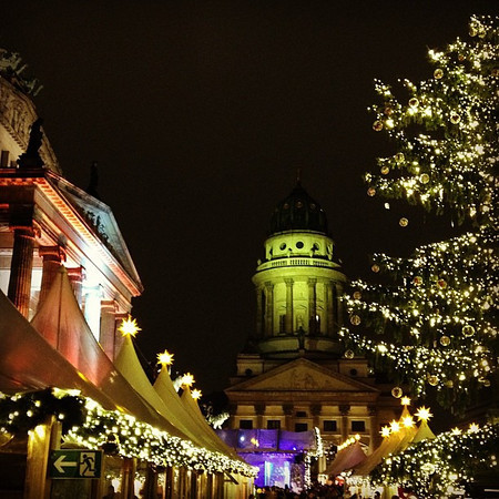 Gendarmenmarkt, #Berlin Christmas market eye candy