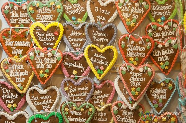 German Lebkuchen (Gingerbread Cookies) - Potsdam Christmas Market, Berlin