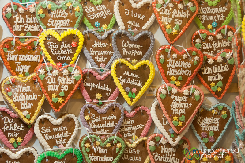 German Lebkuchen (Gingerbread Cookies) - Potsdam Christmas Market, Berlin