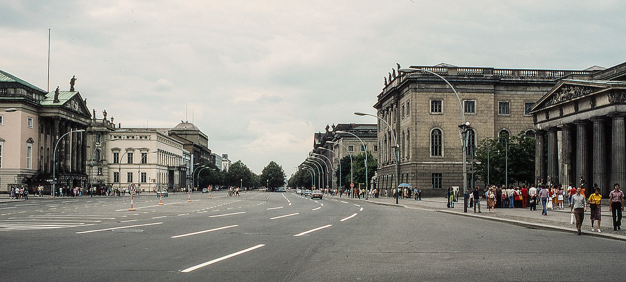 Rush Hour in East Berlin