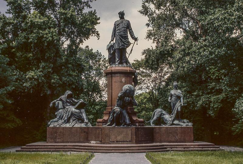 Bismark Monument in Tiergarten