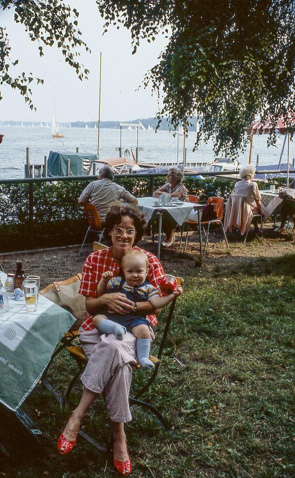 Jan & Derek on the Wannsee