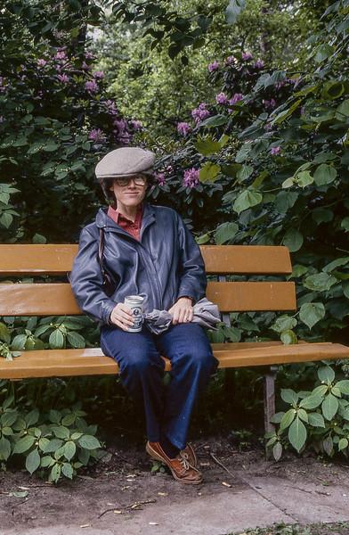 Bum in Tiergarten
