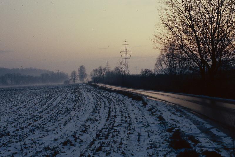 Berlin Wall in Winter