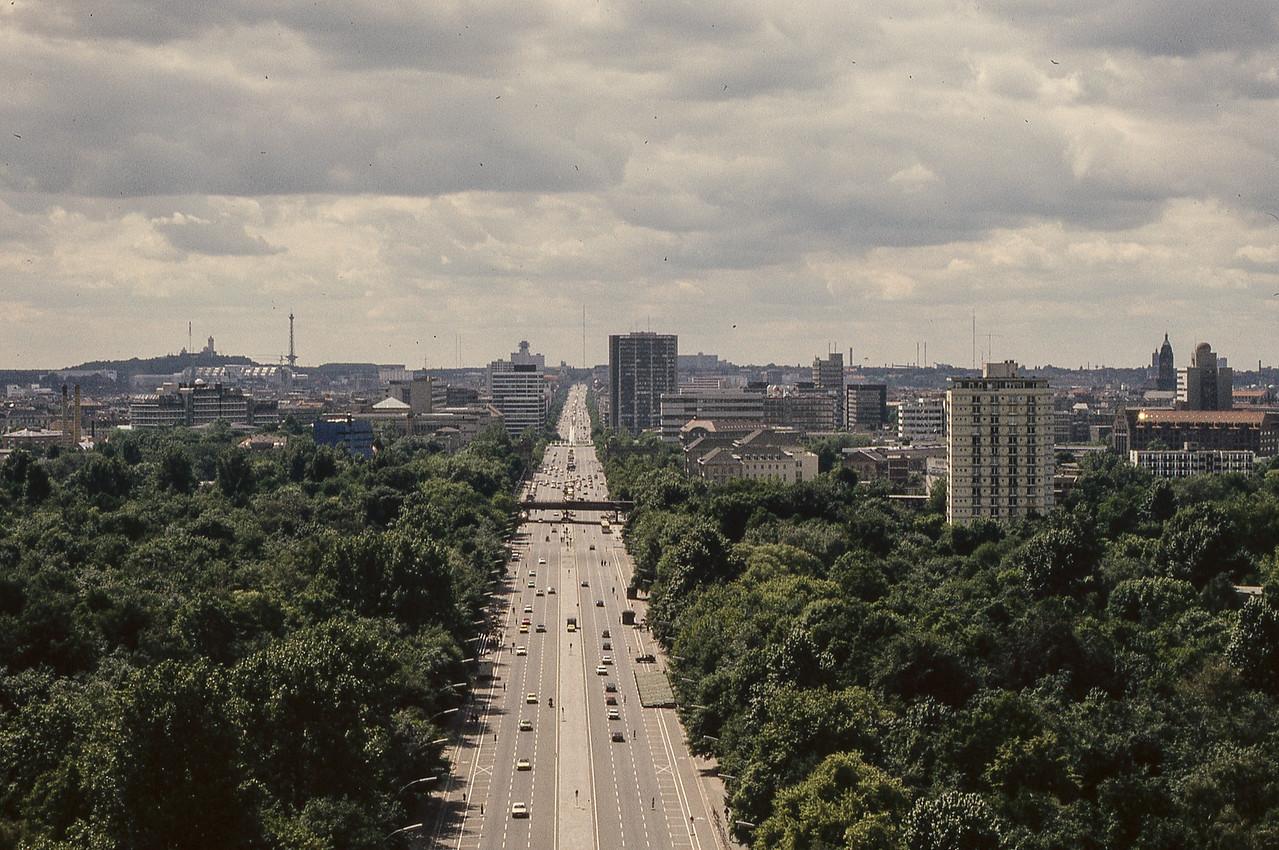Looking West from Siegesåule