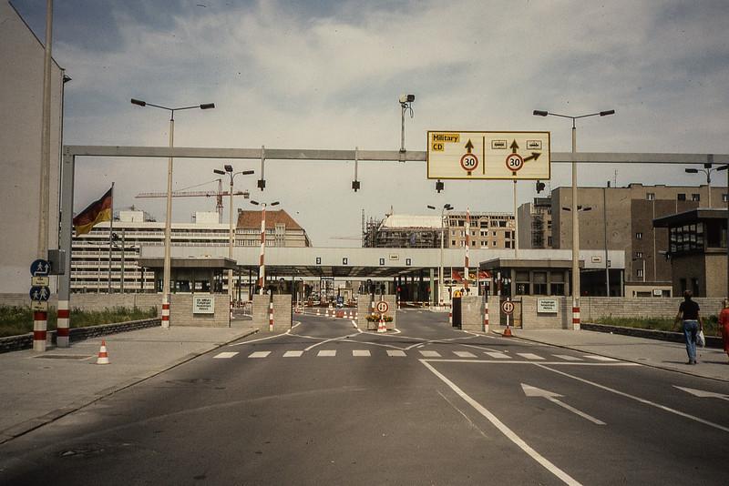 Modernized Checkpoint Charlie