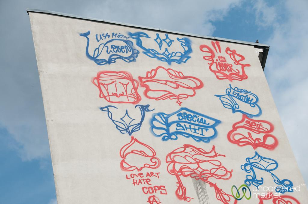 Kreuzberg Street Art, Uber Takes the Side of a Building - Berlin