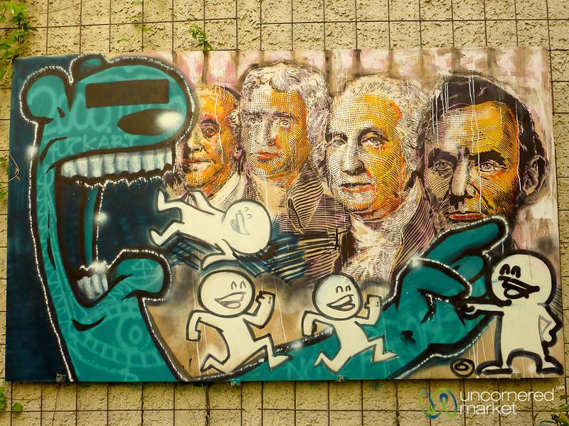 American Presidents, Berlin Graffiti