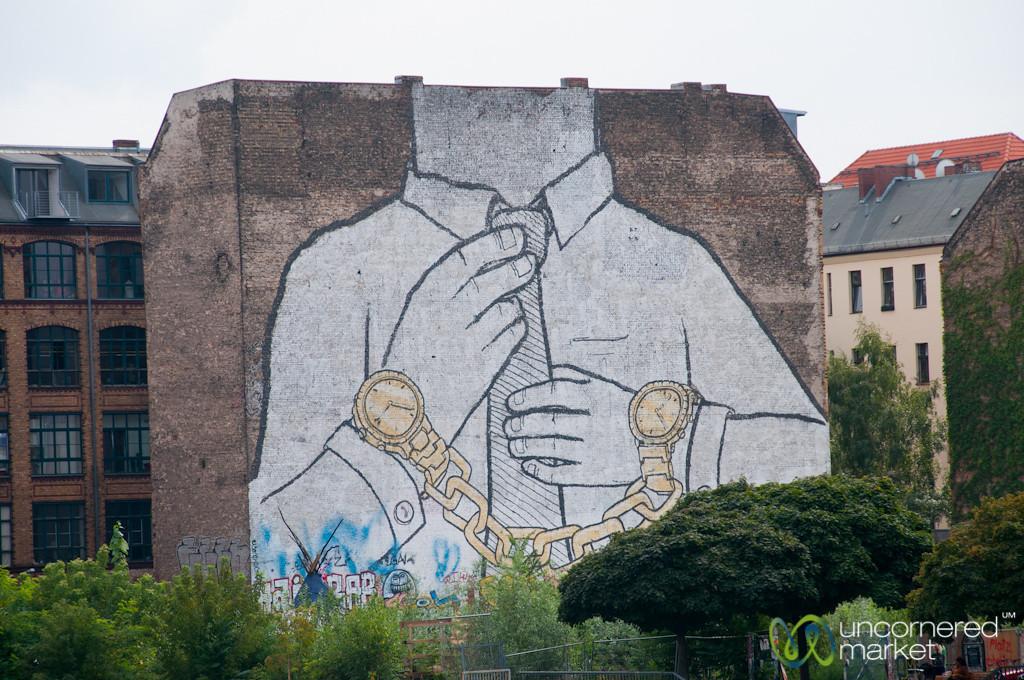Street Artist Blu, Commentary on Society and Time - Kreuzberg/Friedrichshain, Berlin