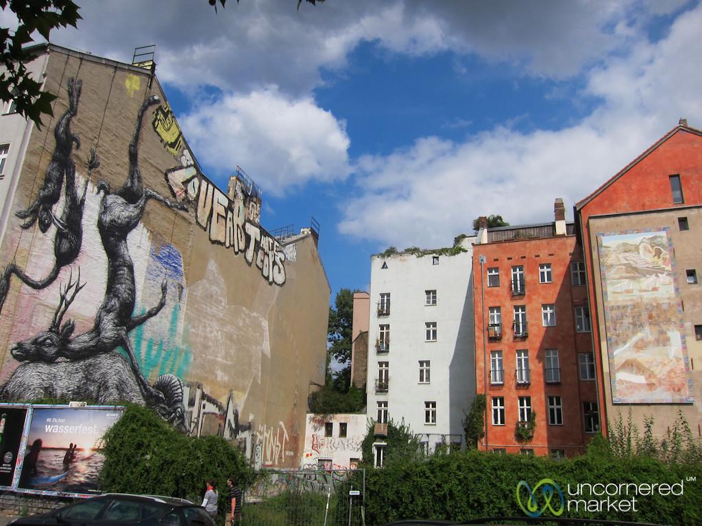 Kreuzberg Street Art, Belgian Artist Roa - Berlin