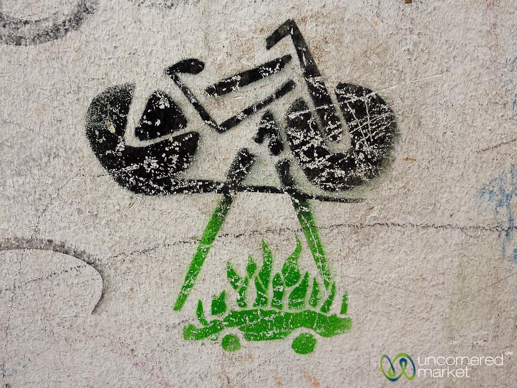 Bicycle Graffiti - Kreuzberg, Berlin